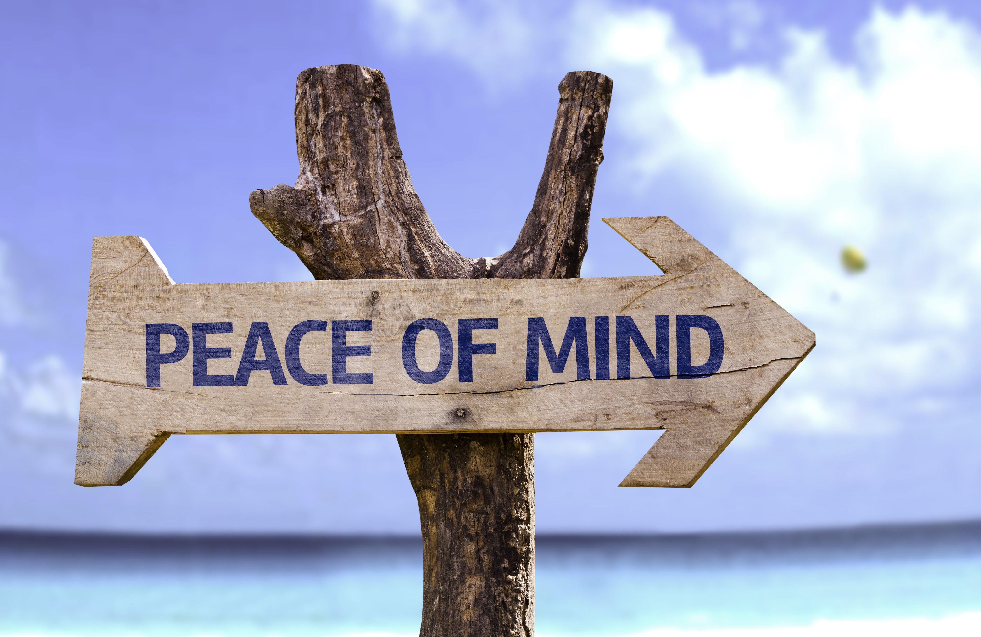 peace of mind this way